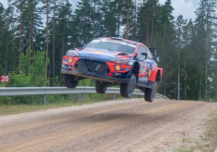 Rally  Viru en Estonia