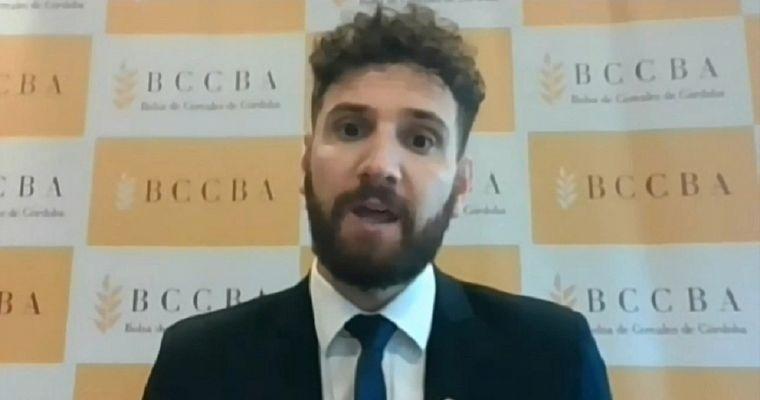 FOTO: Gonzalo Agusto - Economista de la Bolsa de Cereales de Córdoba