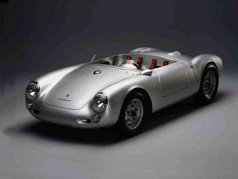 FOTO: La carrera del '54, cuando debutaron los 550 Spyder en Le Mans