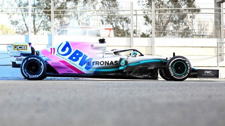 FOTO: El parecido es casi exacto y Racing Point reconoce que ha copiado el W10