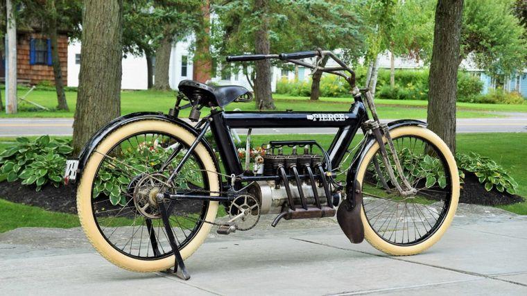 FOTO: Producida entre 1909 y 1913, se construyeron menos de 500 ejemplares de estas motoS