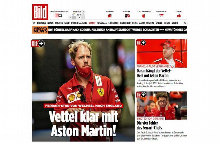 FOTO: Racing Point se convierte en Aston Martin y decide entre Pérez o Vettel, para 2021