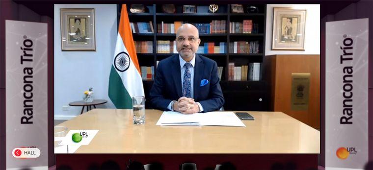 FOTO: Daniel Chuburu, embajador argentino en India.