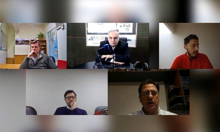 VIDEO: Zaragosí, Tron, Borri y Cuffia en diálogo con Ricardo Agusti.
