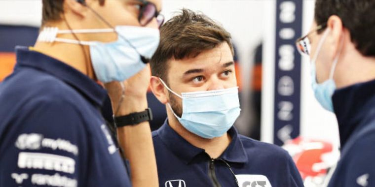FOTO: Nicolás Bianco, el mecánico cordobés del equipo Alpha Tauri de F1