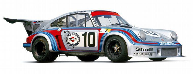 FOTO: El Porsche Carrera Turbo de 1975