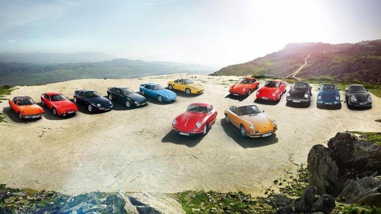 FOTO: Los modelos de Porsche en el tiempo