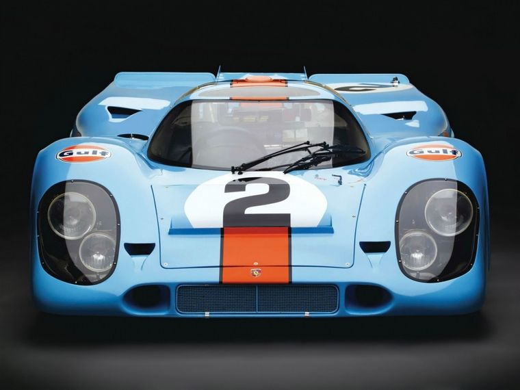 FOTO: Porsche 917, la línea fina encubre un bestial aparato de acelerar