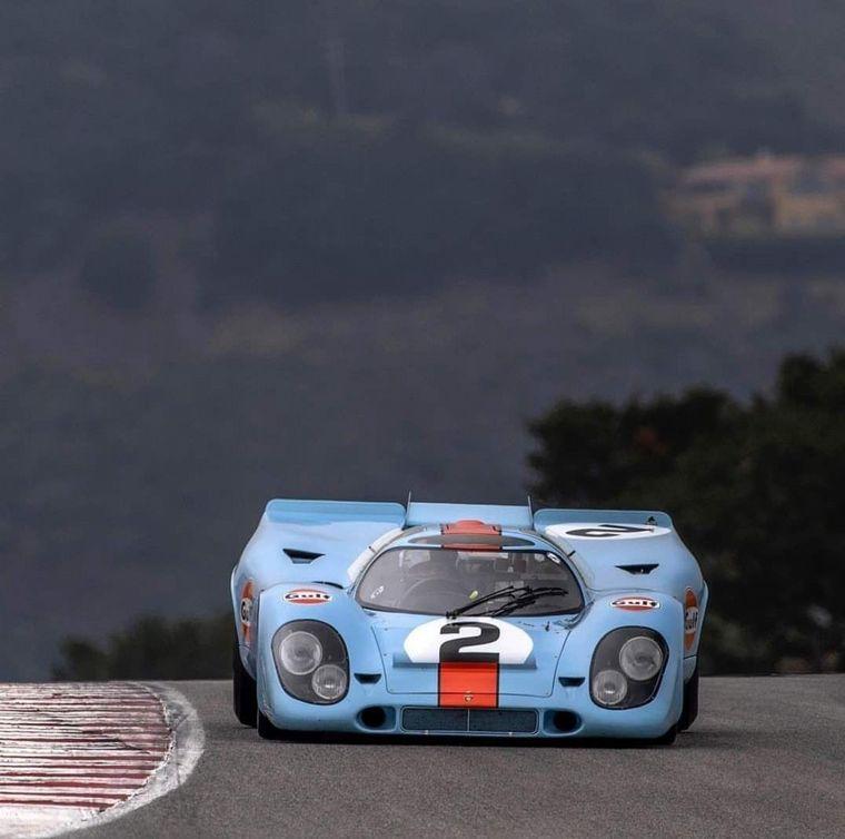 FOTO: Un 917 de la Porsche Salzburgo fue el primero en ganar Le Mans