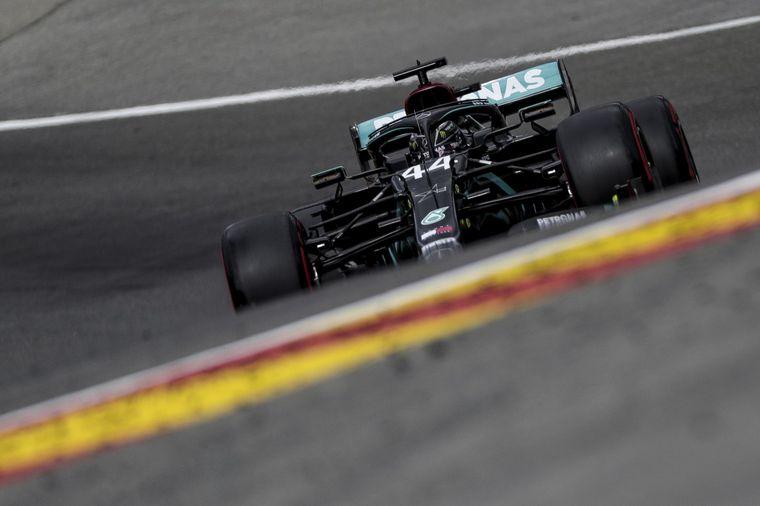 FOTO: Victoria 89 del inglés que se pone a 2 del récord de Michael Schumacher