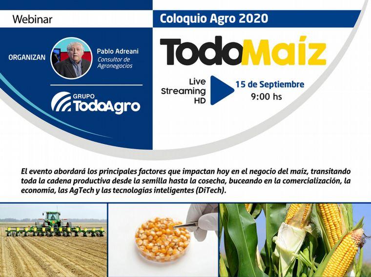 """VIDEO: """"Recalculando las estrategias maiceras"""" en TodoMaíz 2020."""