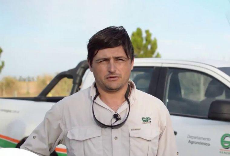 VIDEO: Mauricio Lattanzi, jefe de asesores técnicos de la Cooperativa Agropecuaria Gral. Paz