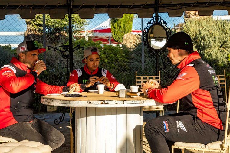 FOTO: El búnker de KTM para el Andalucía Rally