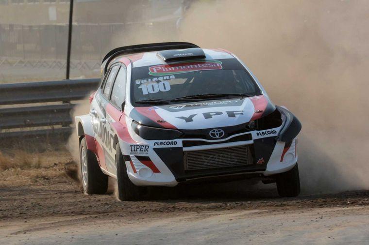 FOTO: Los nuevos Toyota Yaris del Villagra Racing ya salieron a pista