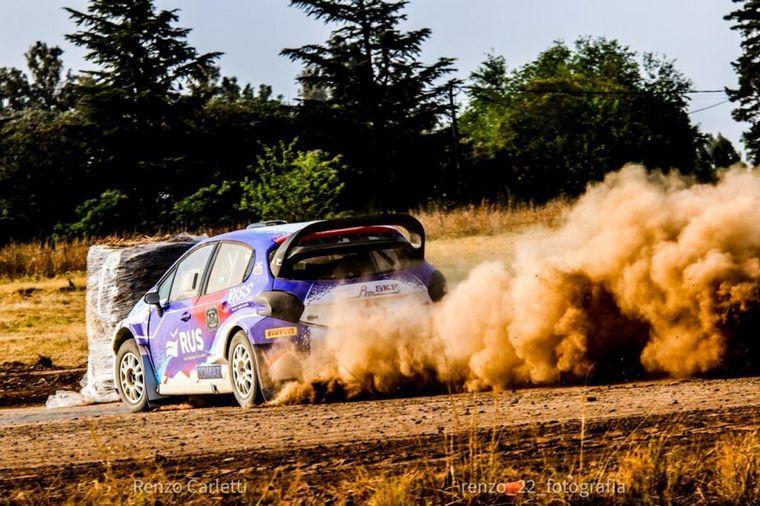 FOTO: Cadena 3 Motor en el 'Gastón Perkins' con el Rallycross