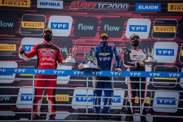 FOTO: Llaver le dió la victoria 50ª en la categoría a Chevrolet hoy.