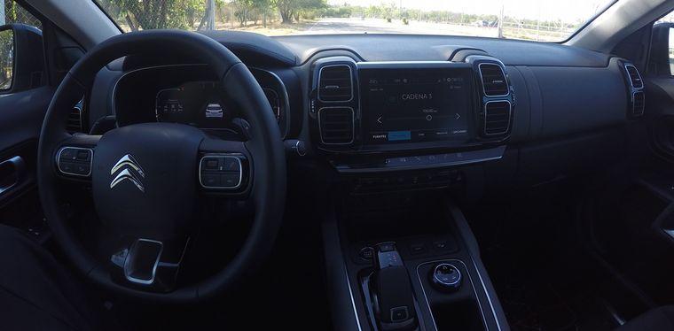 FOTO: La SUV C5, con un despeje ideal del suelo.
