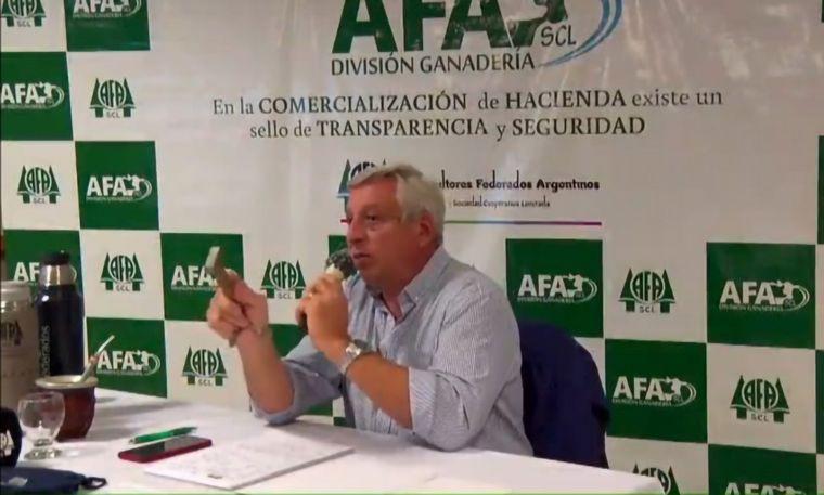 AUDIO: Alejandro Milano, gerente de Hacienda de AFA.