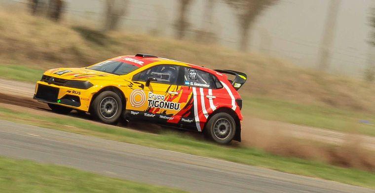 FOTO: Augusto Dagostini con el Polo/Baratec ganó la semifinal mas rápida.