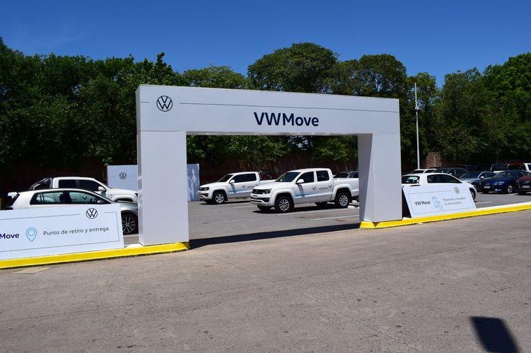 FOTO: Thomas Owsianski, CEO y Presidente de Volkswagen Group Argentina, presentó VW Move