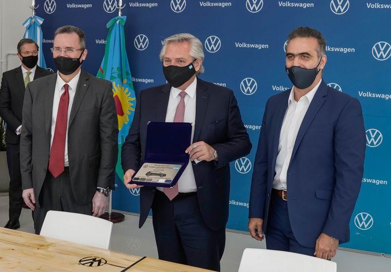 FOTO: El grupo VW inauguró en Pacheco la Planta de Pintura más moderna del país