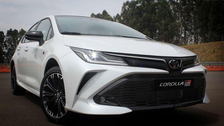 FOTO: El Corolla GR-S, fabricado en Brasil, llegará en 2021.