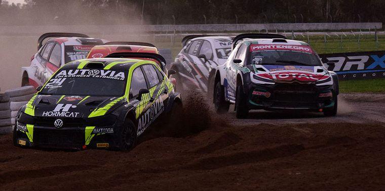 FOTO: Federico Villagra con el Yaris Maxi Rally llega adelante en el Campeonato.