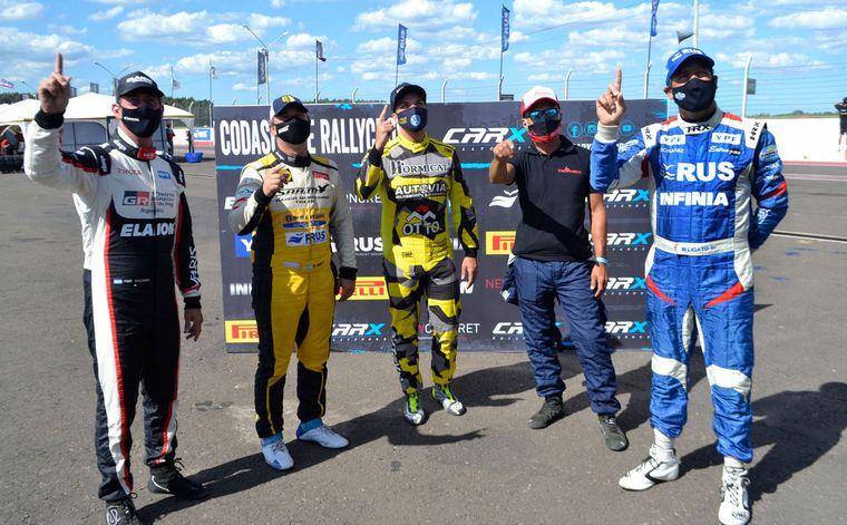 """FOTO: Quieren el """"1"""" de Campeón 2020 de RallyCross-Carx."""