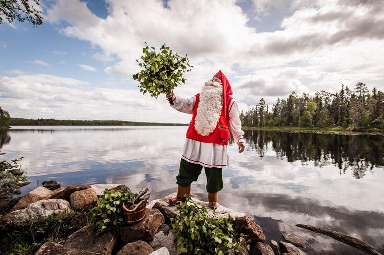 FOTO: Rovaniemi, el pueblo de Papá Noel