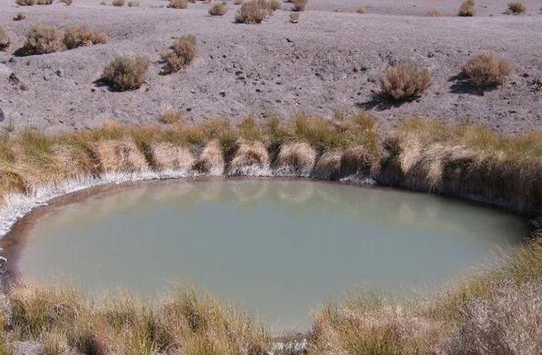FOTO: Lagunas tres colores en Catamarca