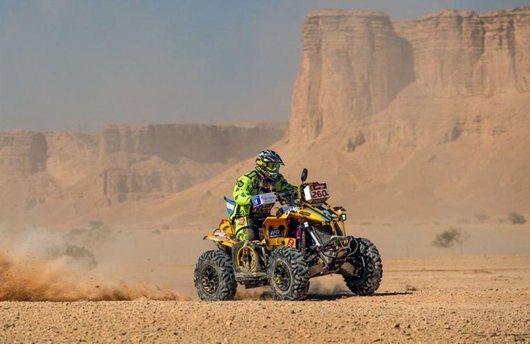 FOTO: El 'Yaguareté' y su CanAm en las arenas árabes en 2020