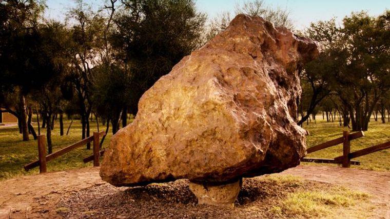 FOTO: Campo de meteoritos en Chaco