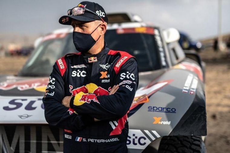 FOTO: El Buggy Mini de Stefan en el shakedown de Jeddah