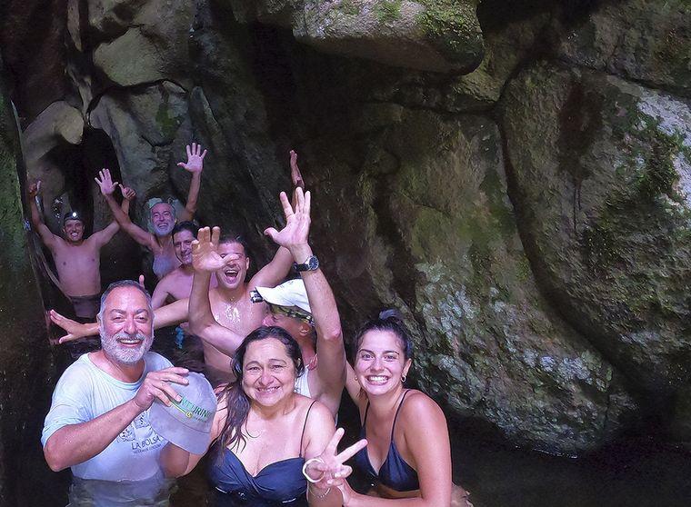 FOTO: La Cumbrecita Rio Subterraneo