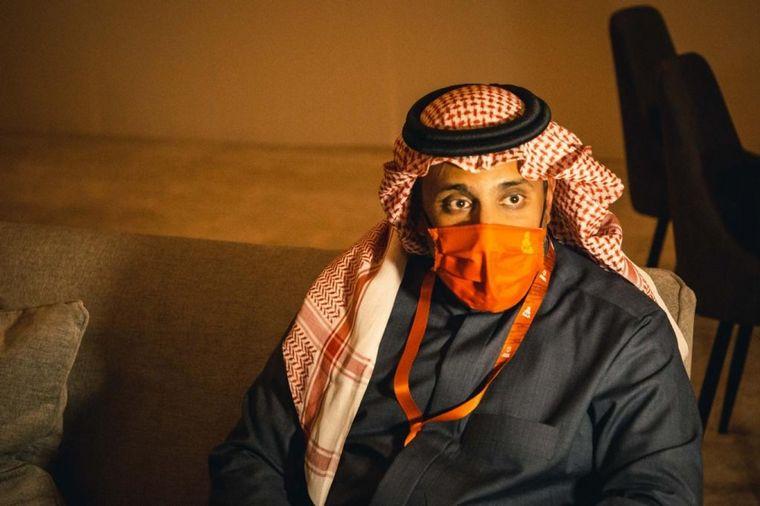 FOTO: C3M en el diálogo con el presidente de la Federación Saudita