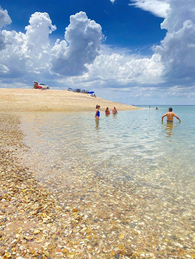 FOTO: Caribe argentino en Río Negro