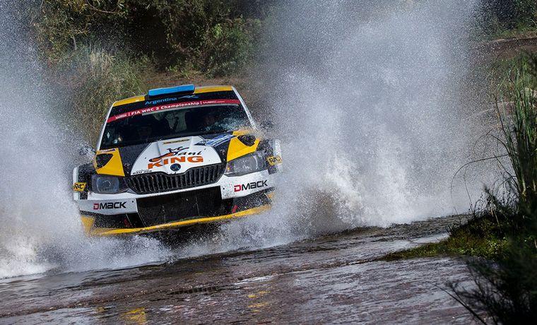 FOTO: Alonso y el Skoda R5 se vuelven a juntar, ahora en el Rally Argentino.
