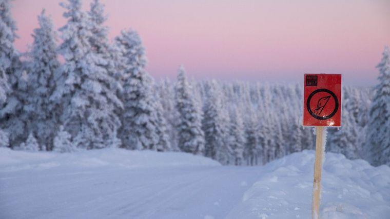 FOTO: El majestuoso marco níveo del Ártico acoge la segunda fecha del WRC 2021