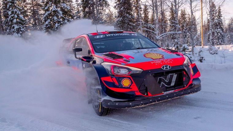 FOTO: Laponia espera al rally mundial con bancos de nieve de más de un metro