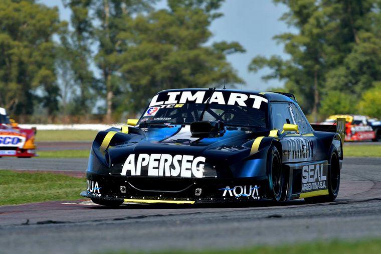 FOTO: Josito Di Palma, ahora con Ford, arribó segundo.