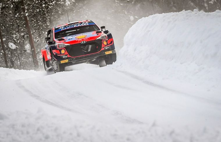 """FOTO: Tänak: """"Intenté ser lo más fino posible con los neumáticos en la superficie dura"""""""