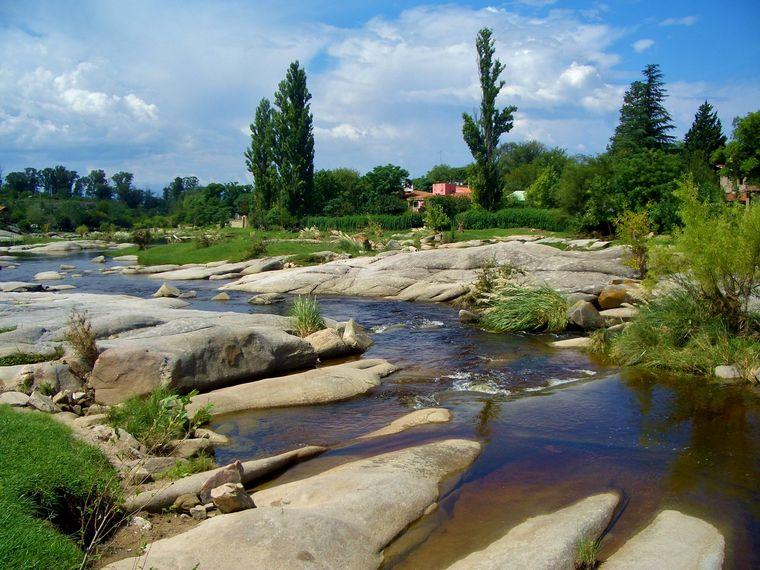 FOTO: Balneario río traslasierra Los Corrales