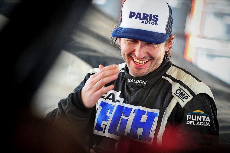 "FOTO: Baldoni se sumó al ""Point Cola Racing"""