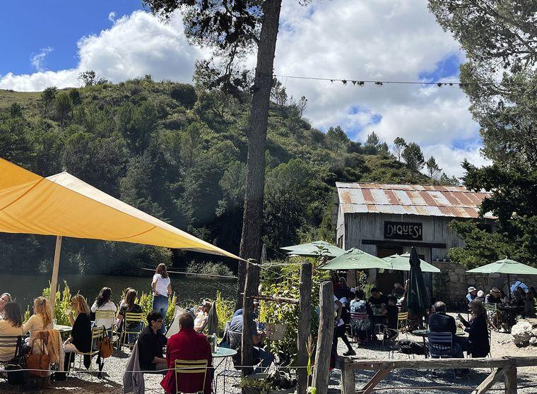 FOTO: Dique San Jerónimo en La Cumbre