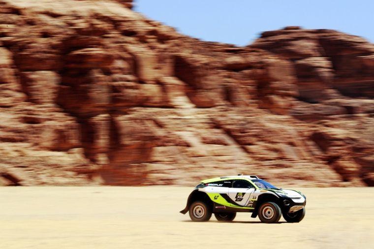 FOTO: Las tiendas en la asistencia del Extreme E en el desierto de Al-Ula
