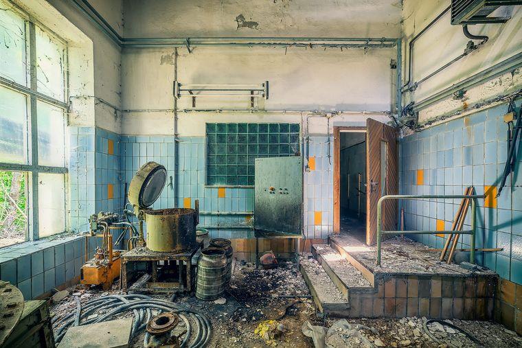 FOTO: Fotos de lugares abandonados en Europa