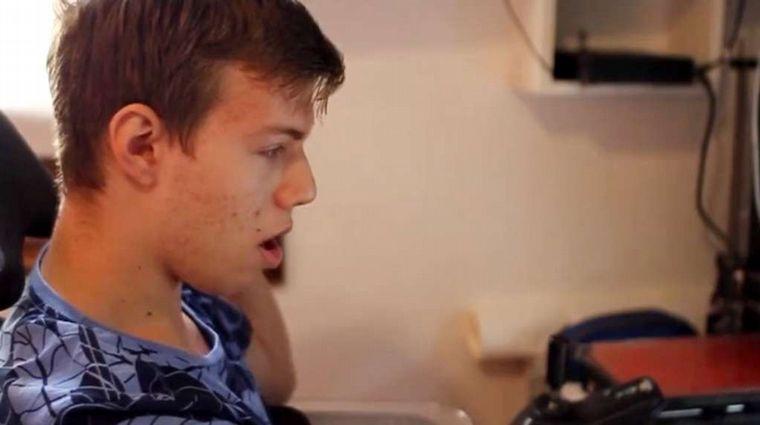 FOTO: Iván Davidovich es estudiante universitario y grabó un video que se viralizó en redes