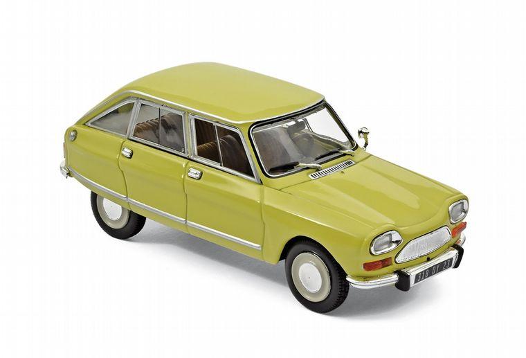 FOTO: Citroën presentó a la prensa el 24 de abril de 1961 el AMI 6.