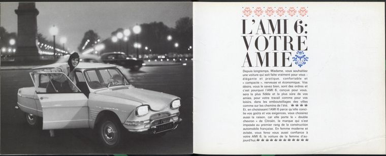 FOTO: Se vendieron 550.000 unidades sobre el millón de Ami 6 fabricados hasta 1971.