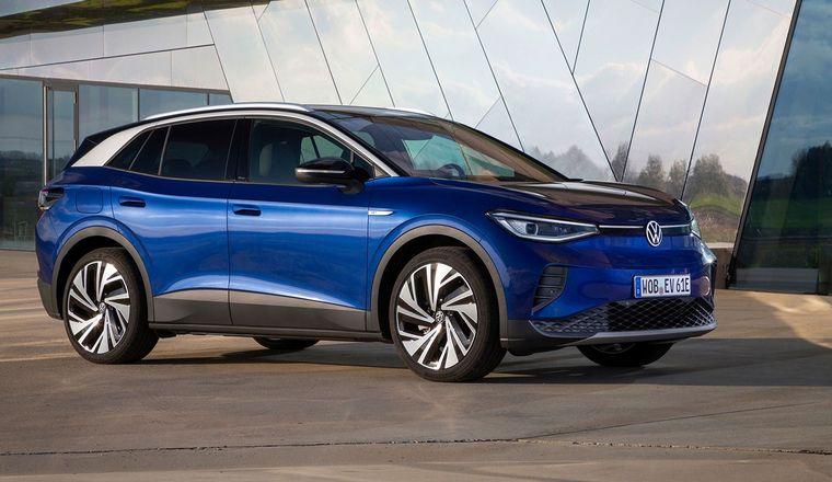FOTO: El flamante vehículo 100% eléctrico de Volkswagen, el ID.4.